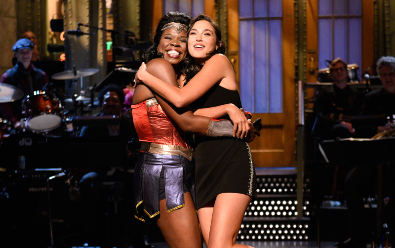 Gal Gadot on Saturday Night Live: Watch the Highlights!