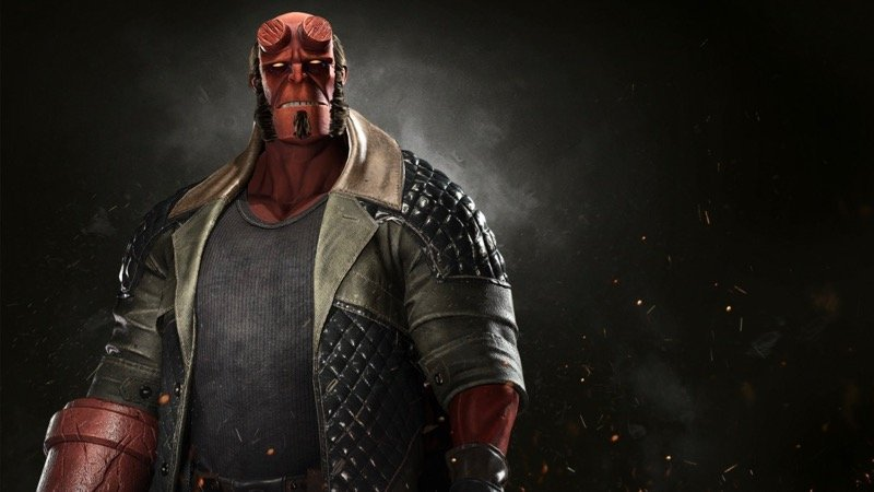 Hellboy crashes DC fighting game Injustice 2 in new gameplay trailer