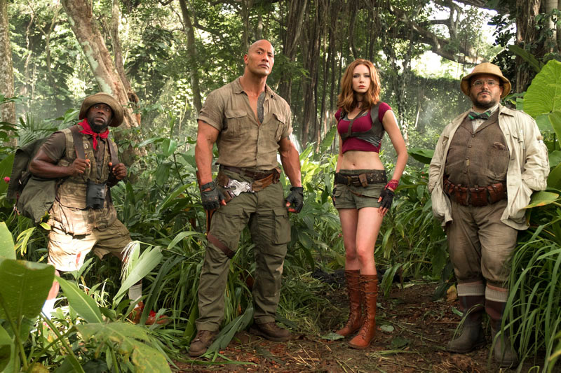 Watch the new Jumanji: Welcome to the Jungle Featurette