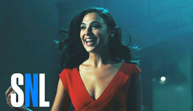 Saturday Night Live Host Gal Gadot Breaks Down Walls in First Promo