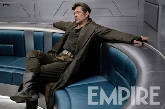 Here's some new info on Benicio Del Toro's character in Star Wars: The Last Jedi