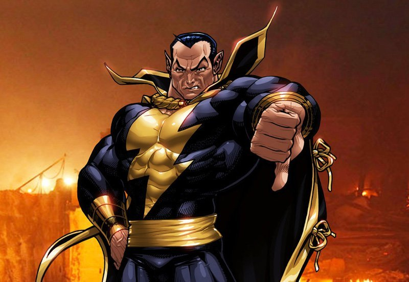 Illustration of Black Adam