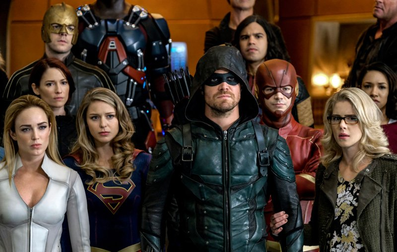 98 Crisis on Earth-X Photos Released by The CW