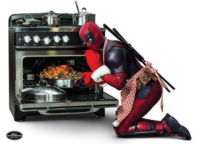 It's About to Get Steamy in the Kitchen with Deadpool