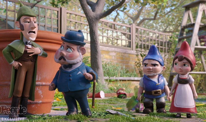 Sherlock Gnomes Trailer: A Look at Johnny Depp's Detective