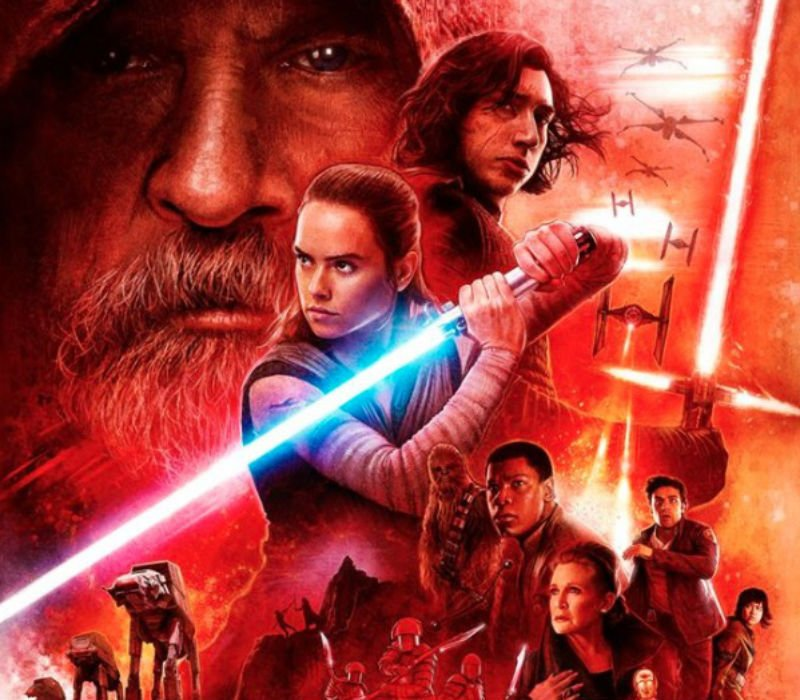 Check out the new Star Wars The Last Jedi Dolby Cinema poster