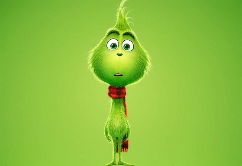 Grinch Poster Shows the Title Character Before He Got Mean