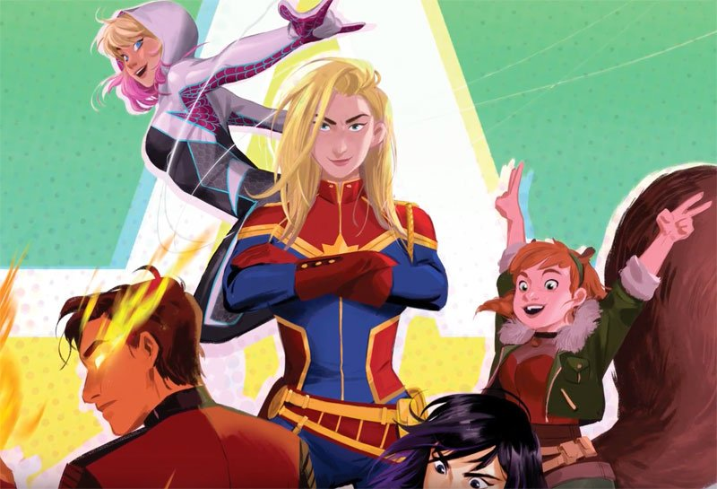 The Trailer and Key Art for New Animated Franchise Marvel Rising
