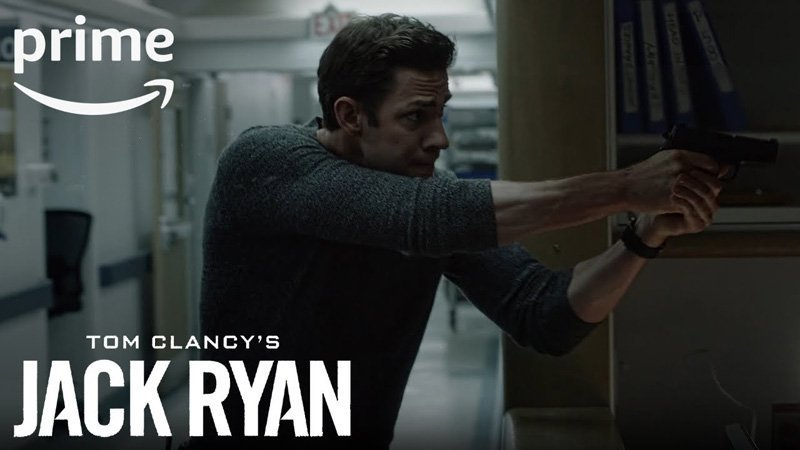 The New Jack Ryan Trailer Featuring John Krasinski