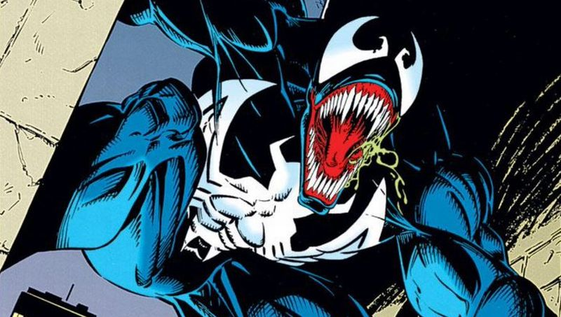 Tom Hardy's Eddie Brock Gets Knocked Around in Venom Set Videos