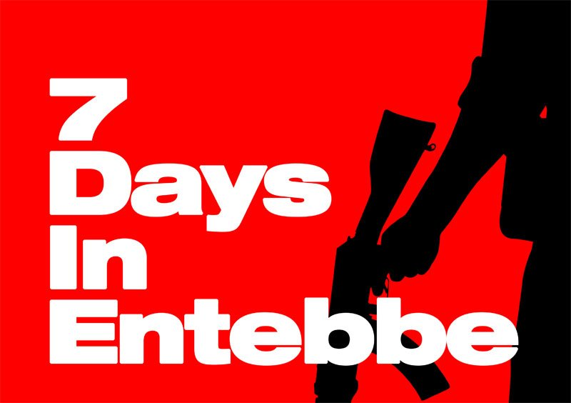 Check out the New 7 Days in Entebbe Poster