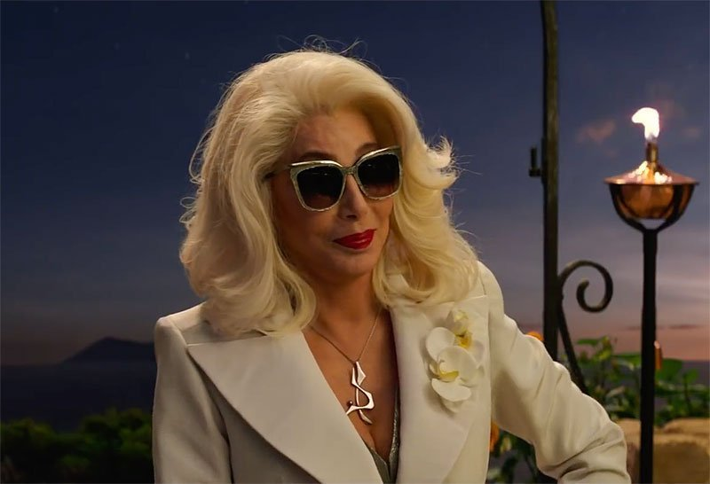 Cher the Love in New Mamma Mia! Here We Go Again Trailer