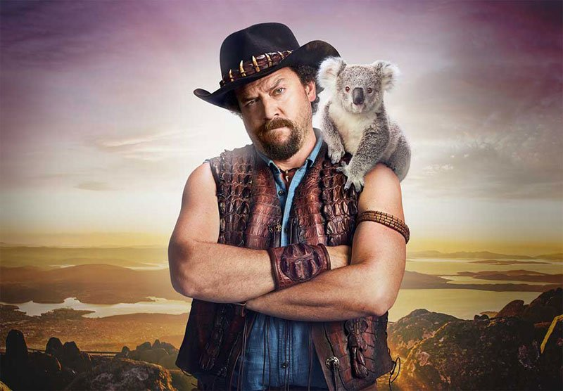 Danny McBride is the Son of Crocodile Dundee