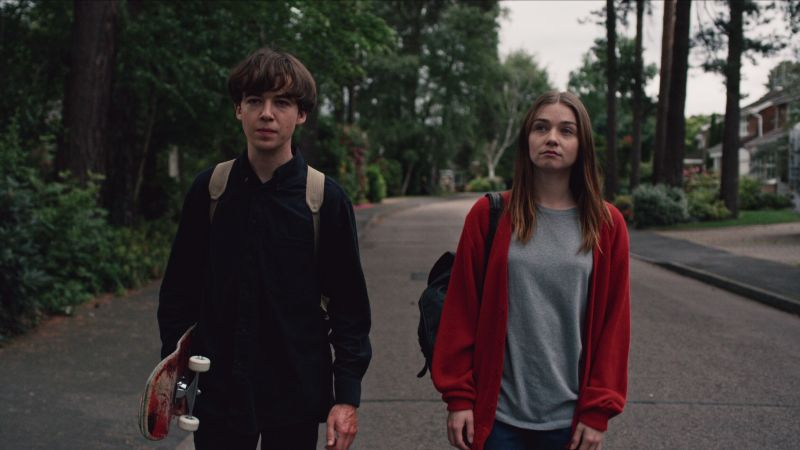 The End of the F**king World Trailer: Netflix Delivers a Psychotic Romance