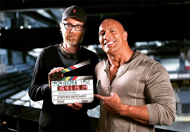 """Dwayne """"The Rock"""" Johnson stars in Fighting With My Family."""