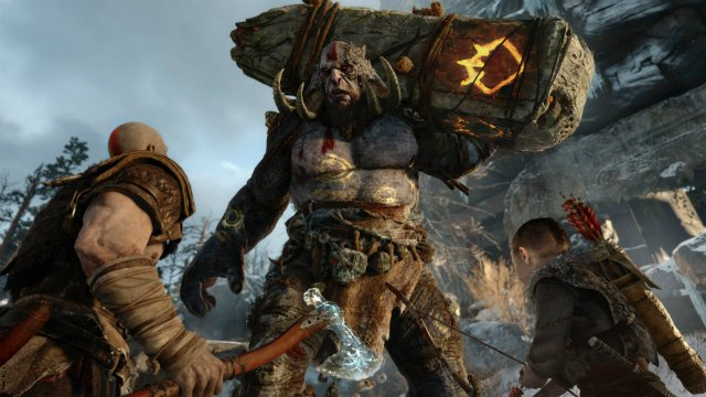 Check out our preview of God of War, watch gameplay footage and check out what we learned from writer/director Cory Barlog