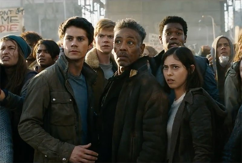 New Maze Runner: The Death Cure Clip Brings Out the Big Guns