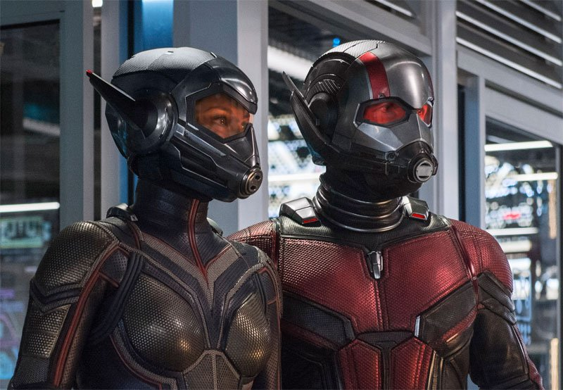 MAN & THE WASP Suit Up in New Photo