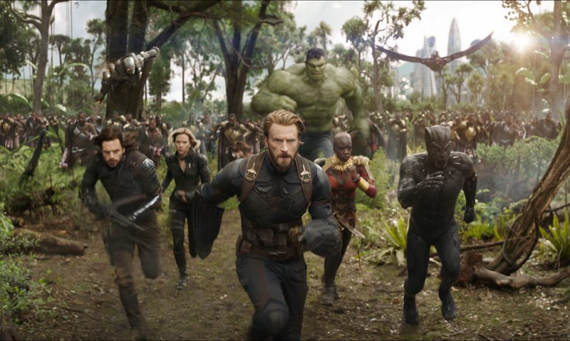 2018 Comic Book Movies: Avengers: Infinity War opens on May 4.
