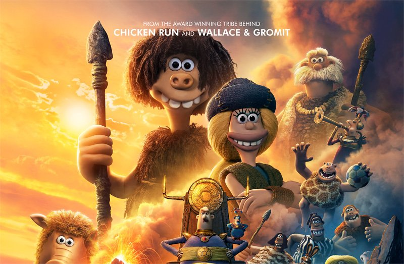 Exclusive First Look at the New Early Man Poster