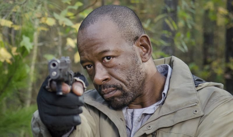 Check out new pics of Lennie James on the Fear the Walking Dead crossover