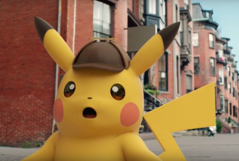 Legendary's Live-Action Detective Pikachu Movie Begins Filming