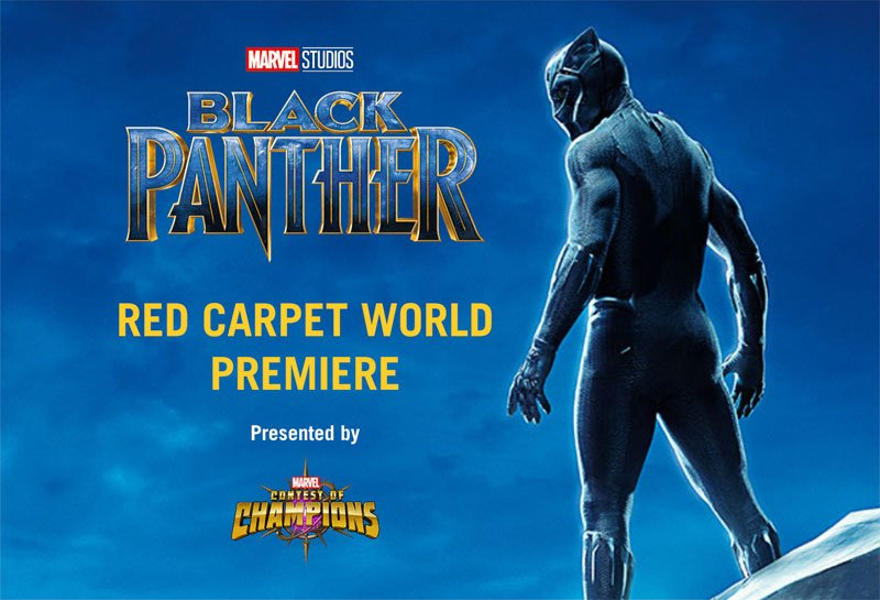 Watch the Marvel Studios Black Panther Red Carpet Live!