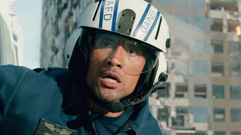 "Dwayne ""The Rock"" Johnson stars in San Andreas"