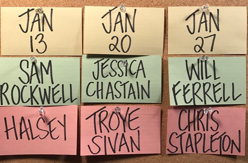 Jessica Chastain and Will Ferrell to Host Saturday Night Live