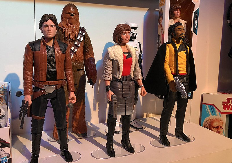 Hasbro Star Wars Toy Fair Gallery With Solo & More!