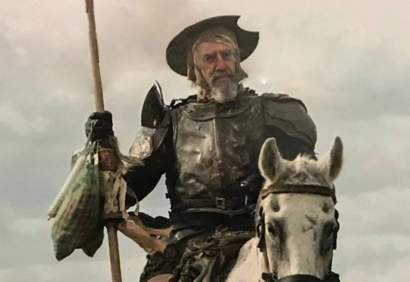 First The Man Who Killed Don Quixote Photo Revealed