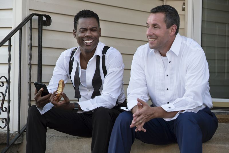 Teaser for Adam Sandler, Chris Rock Netflix Film The Week Of