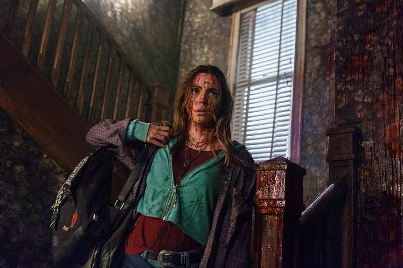 Arielle Carver-O'Neill plays Ash's daughter Brandy in Ash vs Evil Dead Season 3.