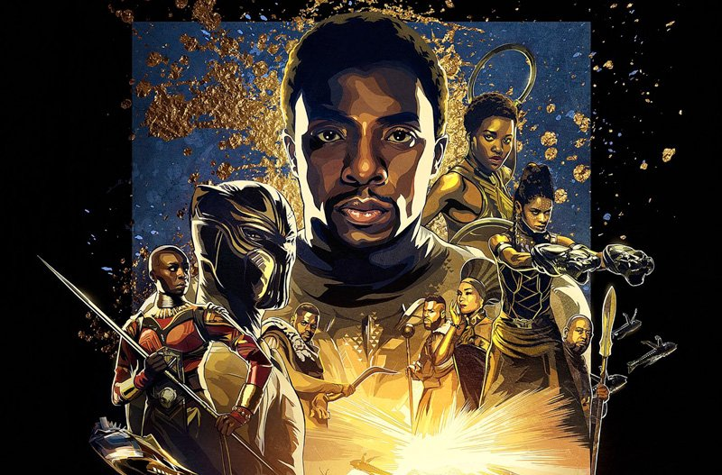 Black Panther IMAX Poster is Epic Comic Book Cool