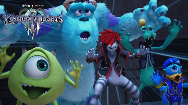 New Kingdom Hearts III Trailer Reveals Monsters, Inc. World