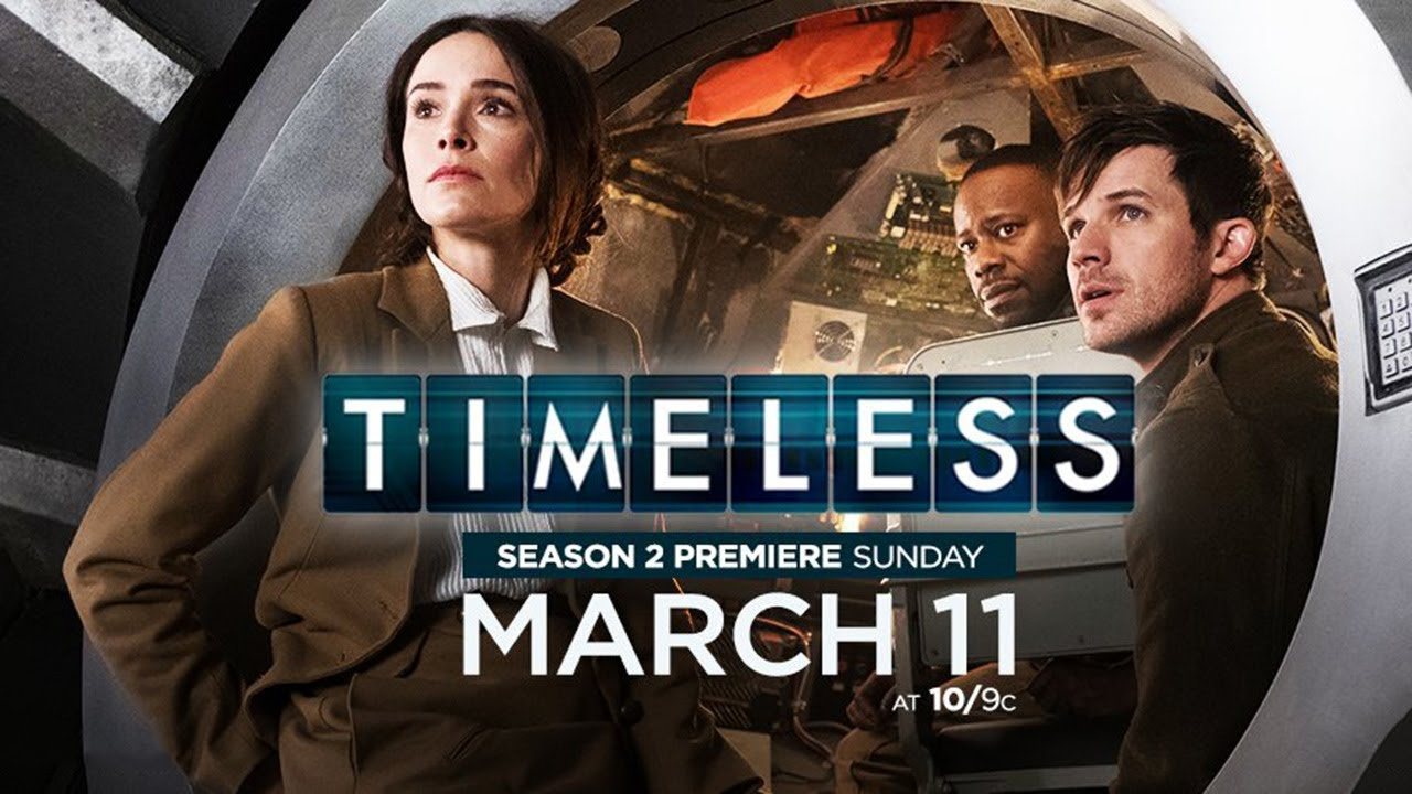 Timeless Season 2 Trailer: Save the Date