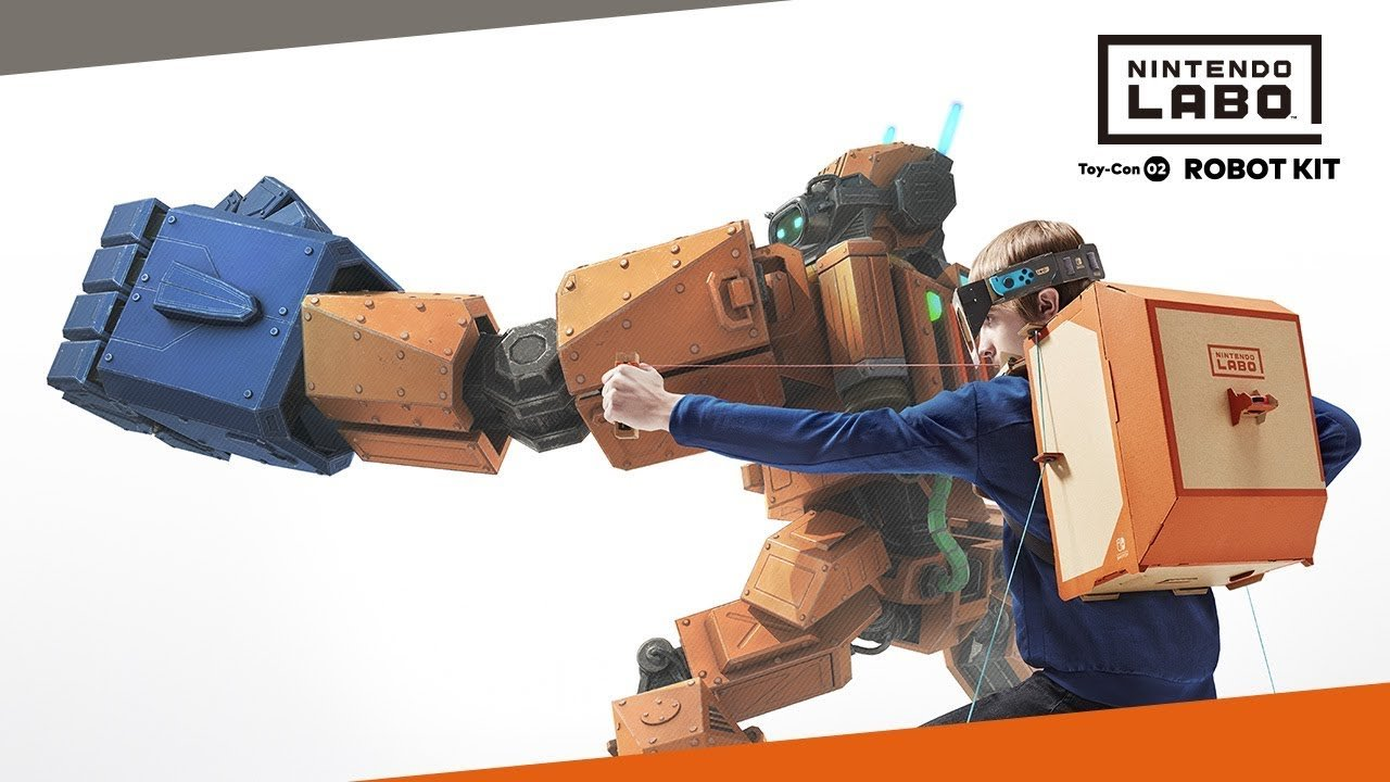 Nintendo Labo Videos Show Off Details of the Upcoming Accessories