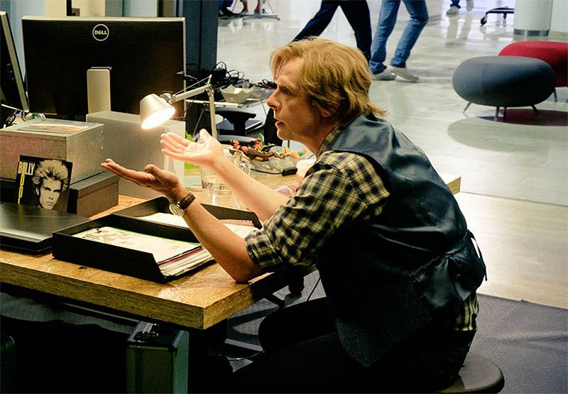 First Look at Simon Pegg in Ready Player One