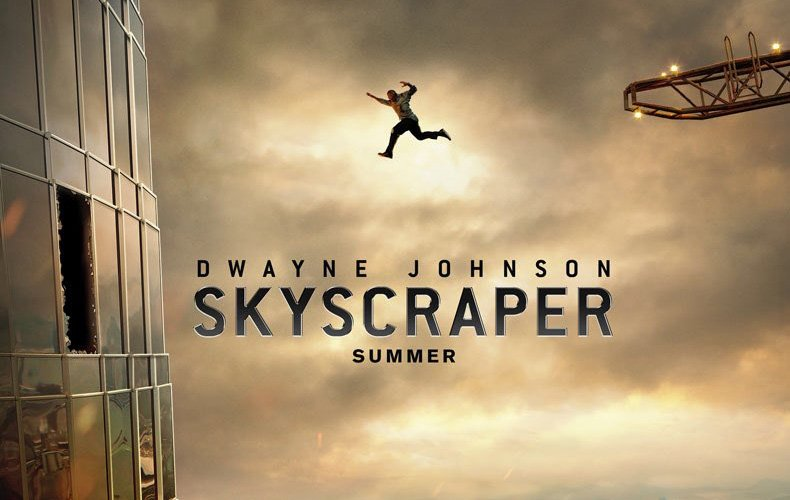 Watch the Skyscraper Trailer Featuring Dwayne Johnson!