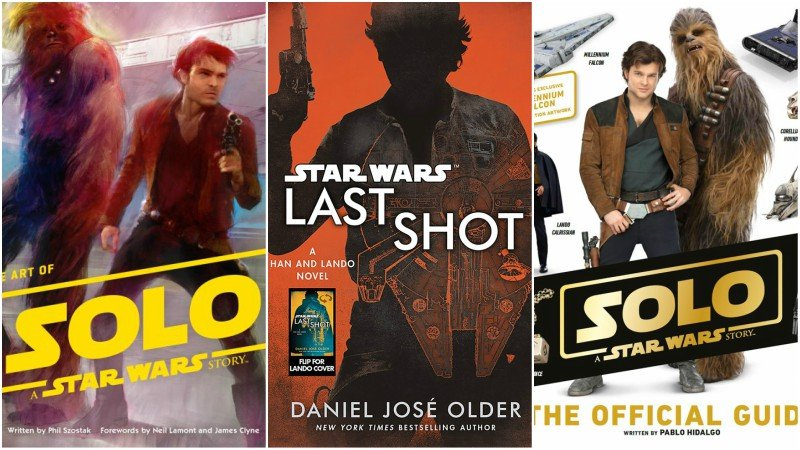 Solo Tie-In Books and Novels Revealed