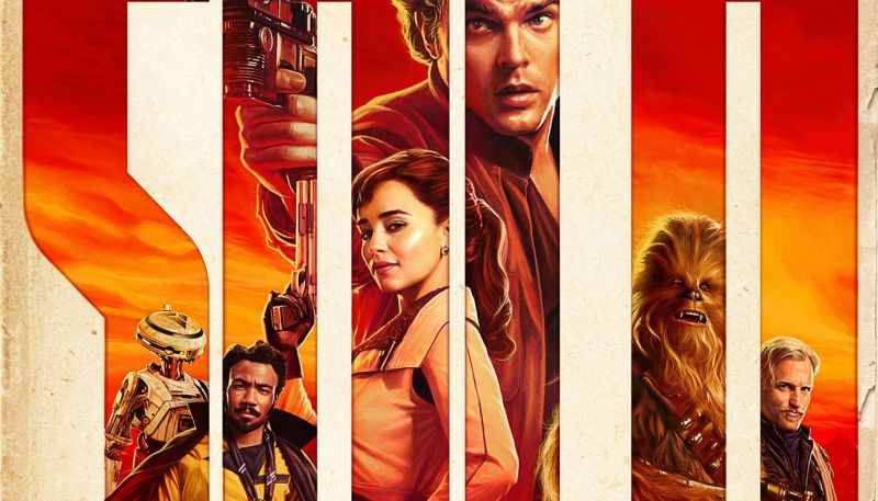The Crew Assembles in New Solo: A Star Wars Story Poster