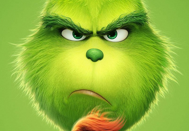 Dr. Seuss' The Grinch Poster is Here, Trailer Arrives Tomorrow