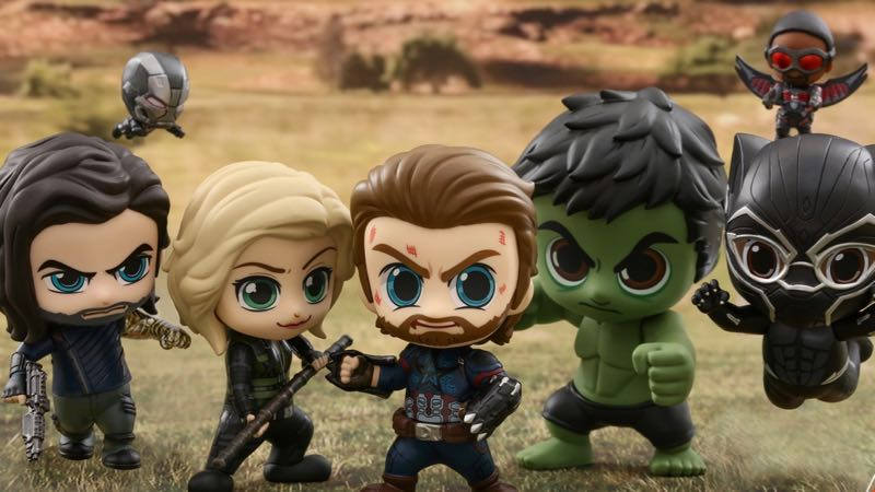 Stylized Infinity War Toys are the Most Adorable Avengers