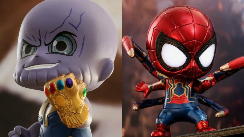 More Avengers Cosbaby Toys Include Thanos, Spider-Man, and More