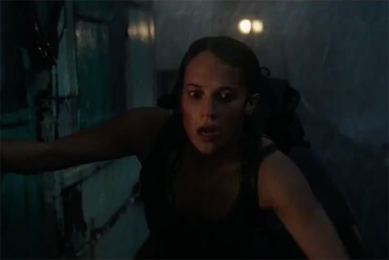 First Tomb Raider Clip Shows Lara Croft in Peril