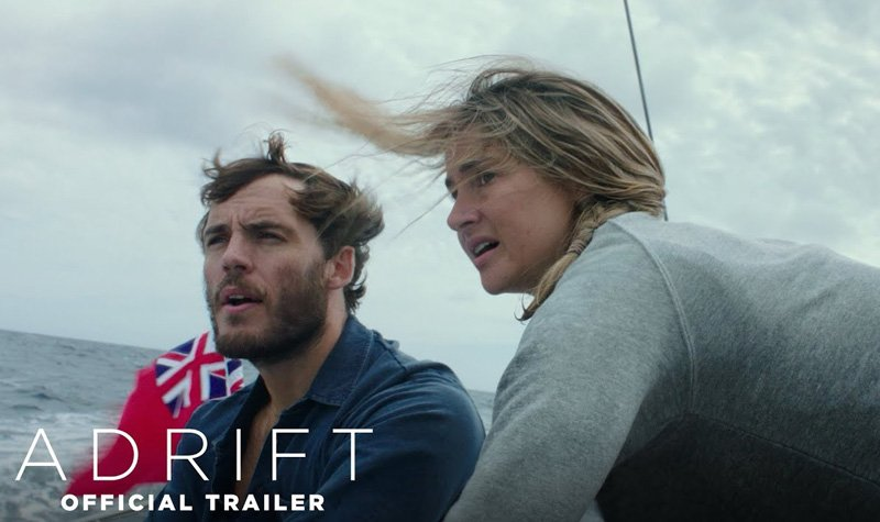 Adrift Trailer Surfaces a Struggle for Survival