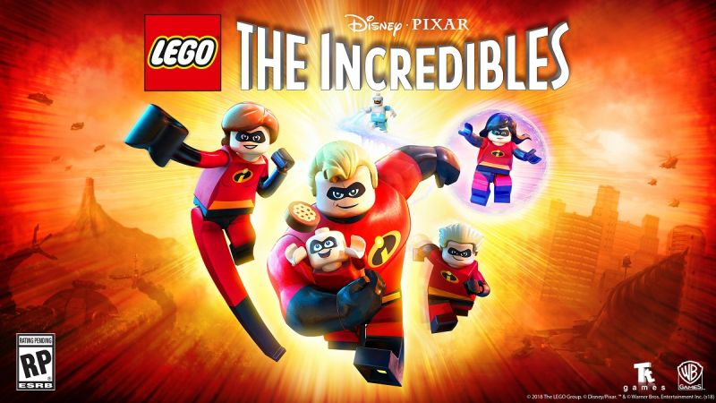 LEGO The Incredibles Trailer Is All About Teamwork