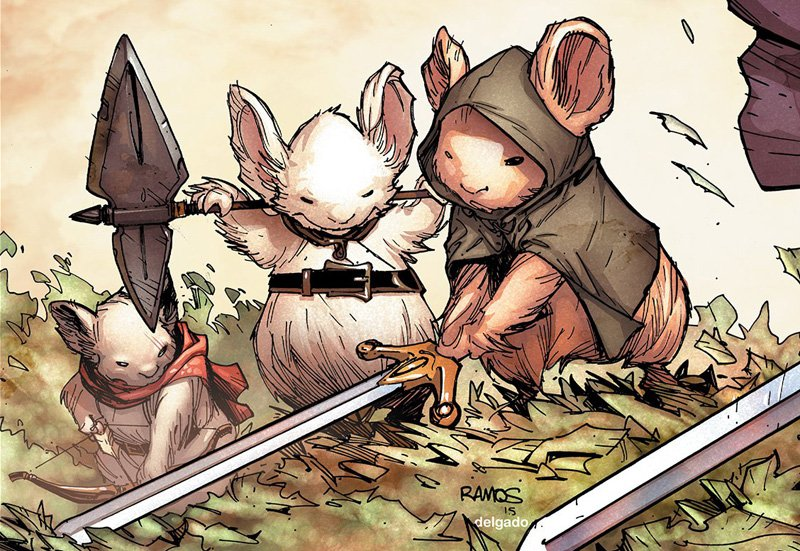 Exclusive: Wes Ball Talks His Vision for the Mouse Guard Movie!