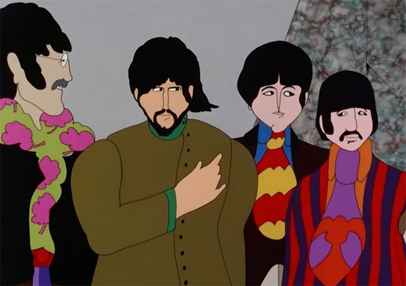 The Beatles' Yellow Submarine Will Return to Theaters for its 50th Anniversary