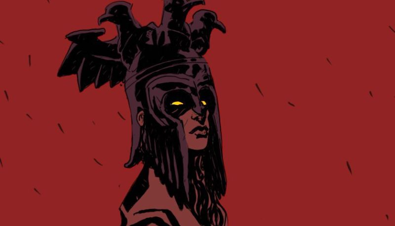 First Hellboy Banner Teases the Arrival of The Blood Queen